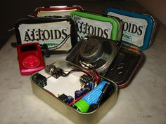 "TLC Family ""How to Make a Speaker from an Altoids Tin"""