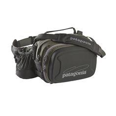 Le Patagonia Stealth Hip Pack est un sac banane polyvalent pour la pêche à la mouche. Il peut contenir 2grandes boîtes à mouches (ou un pique-nique).