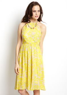 PIPPA Floral Silhouette Dress