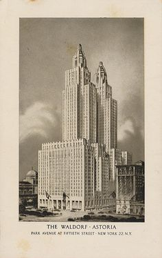 The Waldorf-Astoria - New York, New York