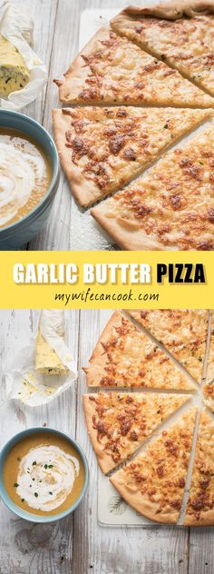 This garlic butter pizza recipe is one of our favorite pizza recipes. A great pizza crust is always a key to a great pizza and the garlic butter crust on this pizza is out of this world. I've seen a number of garlic pizza recipes, but the garlic buttered crust on this pizza takes it to a whole new level. The buttered pizza crust then gets covered with provolone and mozzarella cheese. It's a super easy to make pizza and it's perfect on pizza night or whenever pizza cravings happen to