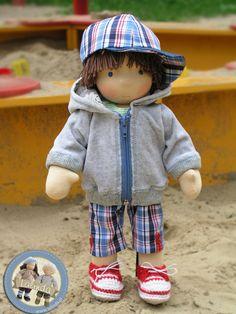 Patrick - Waldorf boy doll by Lalinda.pl
