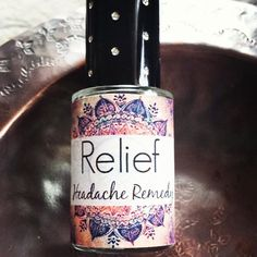 RELIEF // HEADACHE REMEDY// Help to ease headache Migraine// Homeopathic Aromatherapy