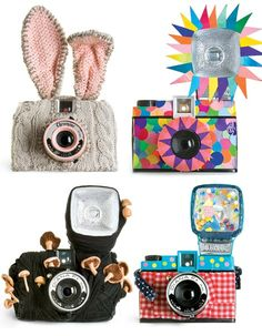 #photography.  Decorating my Nikon like this would really get the kids to smile - and the adults too!  Funny!