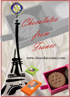 Chocolates from FRANCE