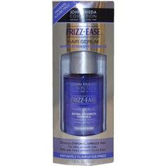 John Frieda Frizz-Ease Extra Strength Serum, 1.69 Ounces***Protects and prolongs the life of color treated hair,High-potency blend of silicones infused with aloe and vitamin E,Leaves dry, defiant hair extremely supple, easy to manage and healthy-looking,Repels humidity to help prevent weather-related frizz,.