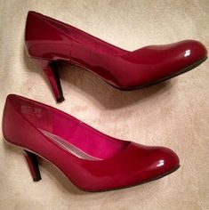 Selling this 👠Red pumps👠 in my Poshmark closet! My username is: lild303. #shopmycloset #poshmark #fashion #shopping #style #forsale #Predictions #Shoes