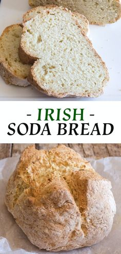 Irish Soda Bread is a yeast free bread ready in 45 minutes. The perfect addition to any delicious Soup or Stew. via @ Irish Soda Bread is a yeast free bread ready in 45 minutes. The perfect addition to any delicious Soup or Stew. Yeast Free Breads, Yeast Bread Recipes, Bread Machine Recipes, Quick Bread Recipes, Easy Bread, Vegan Bread Recipe No Yeast, Bread Machine Irish Soda Bread Recipe, Moist Irish Soda Bread Recipe, Yeast For Bread