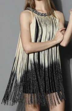 swinging ombre tassel dress http://rstyle.me/n/u69fspdpe