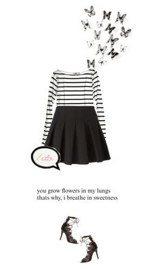 """""""you grow flowers in my lungs that's why, i breathe in sweetness"""" by beingaries ❤ liked on Polyvore"""