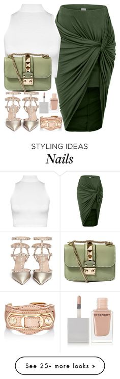 """""""No. 356"""" by styleideology on Polyvore featuring LE3NO, WearAll, Valentino, Balenciaga, Givenchy, women's clothing, women's fashion, women, female and woman"""