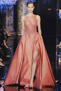 www.thisisglamorous.com | Runway : Elie Saab Haute Couture Fall 2014 by {this is glamorous}, via Flickr