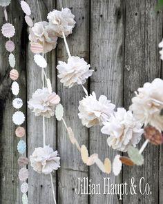 Jillian's Daydream: How to make Flower Garlands