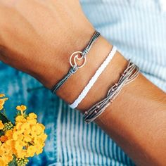 Puravida Rose Gold Wave Bracelet Pack #vscogirl #puravidabracelets #rosegold #wave #teengirl #giftideas