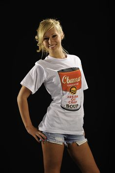 TShirt Cream of Crap Anti Obama TShirt White by LIBERTYSHIRTMARKET, $6.99 on Etsy!