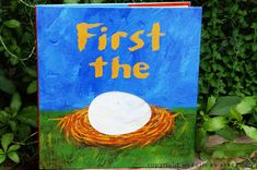 First the Egg: another great Book of the Week GIVEAWAY from waddleeahchaa.com