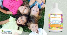 Výživový doplnok – komplex prírodných látok na všestrannú podporu detského organizmu Happy Kids, Happy Children