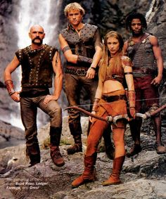 roar - I knew I'd seen HEATH LEDGER in a fantasy/sci-fi tv series