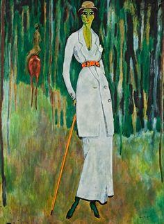 'Study of a rider in green' - Kees Van Dongen (1877–1968)