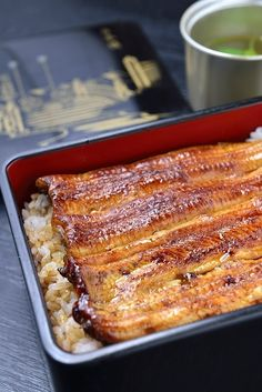 Unaju, Japanese Grilled Eel on Rice うな重