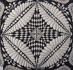 WOW...I know it's quilting, but it's a great design