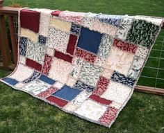 I like this pattern! My love for rag quilts has been long winded:)     http://www.craftsy.com/user/306489/pattern-store
