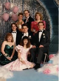 1980s prom decorations