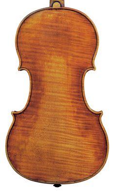 Conte de Fontana' Stradivari of 1702, back
