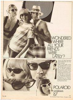 Vintage 1967 Polaroid ad