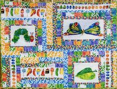 Eric Carle The very hungry caterpillar Children's quillow cushion ... : eric carle quilt kits - Adamdwight.com