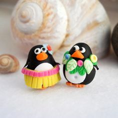 Adorable animal beads are much easier to make from polymer clay than from lampworked glass.