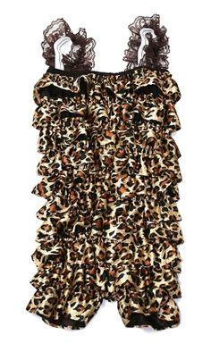 Cheetah print overalls :)