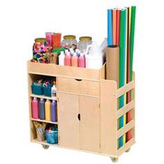 Art Activity Cart