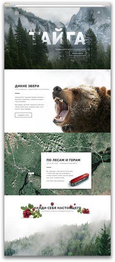 Экстремальные путешествия – Дизайн сайт/лендинг