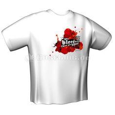 GamersWear YOU BLEED BETTER T-Shirt White
