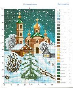 вышивка крестиком пейзажи схемы: 85 тис. зображень знайдено в Яндекс.Зображеннях