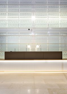 Medibank Tenancy Fitout  at 720 Bourke St, Melbourne  illuminated by NDYLIGHT
