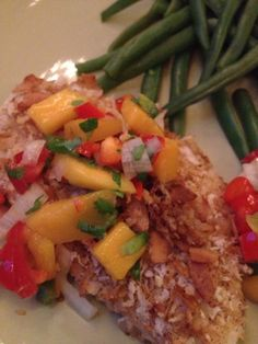 The Classy Cook: Coconut Crusted Chicken