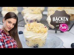 Heidelbeer-Streusel-Cupcakes http://backen-mit-globus.de Instagram: http://gl0b.us/ytig Fan werden und Cupcakes nachbacken + #BMGSally Sally leckere Cupcakes für euch zu...