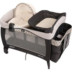 Graco - Pack 'n Play Playard with Newborn Napper Elite, Vance  This is the pack n play I want for my baby!