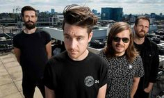 Dan Smith miserably staring off into the distance. Love it.
