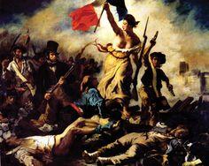 DELACROIX, Eugène. 28 de julho: A liberdade guiando o povo. 1830.
