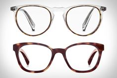 You can't layer up your eyewear like you can your clothing, but Warby Parker's Concentric Collection comes close. Utilizing a unique friction process that bands together two pieces of acetate, the frames sport two distinct colors, compressed together to form...