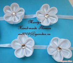 stranamam.ru Diy Crafts To Do, Flower Making, Bobby Pins, Hair Accessories, Flowers, Handmade, Beauty, Dots, Hand Made