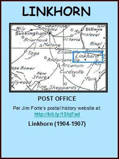 LINKHORN is a locale in Buckingham County.