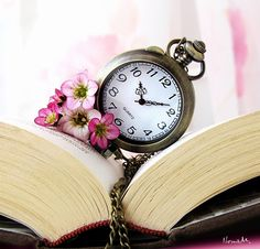 pocket watch images, image search, & inspiration to browse every day. Journey To The Past, Book Flowers, Father Time, Old Clocks, Vintage Clocks, I Love Books, Read Books, Nook Books, Ticks