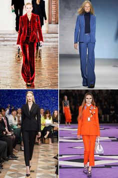Pantsuits Fall 2012 Runway, #pant #suit #pantsuit #fall #2012 #style #fashion #trends, via The Style Umbrella Blog