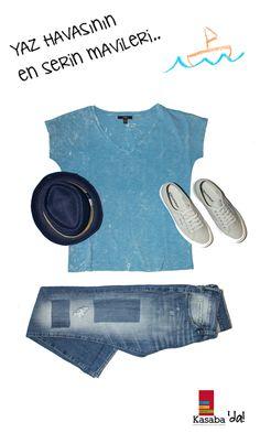 Günün En Serin Kombini:  MAVİ Jean 139,99 TL – Tişört 59,99 TL – Şapka 34.99 TL @supergaita Ayakkabı 149,00 TL  #gününkombini #ootd