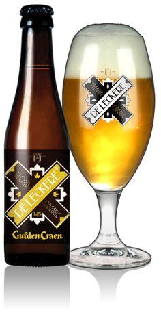Gulden Craen | Blond bier met geuren van vers brood. Heldere moutsmaken met frisse citrusfruit- en hoptonen.  Krachtig en vloeiend in de afdronk. Een blond bier met karakter.