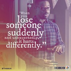 It becomes a part of you. #ThisIsUs